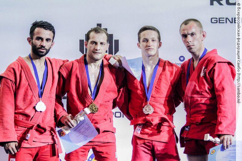 Бронзу чемпионата Европы привезли домой приморские самбисты