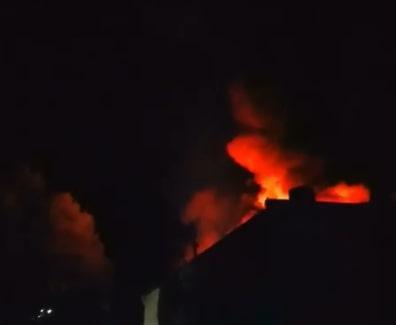 В Приморье очевидцы заметили крупный пожар