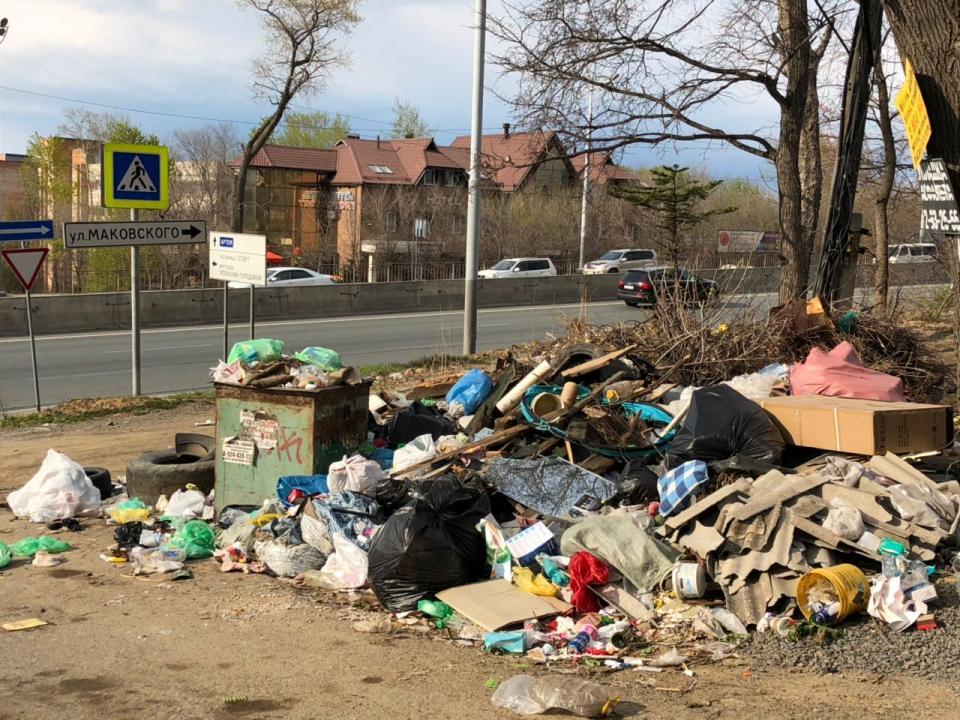 Въезд во Владивосток останется замусоренным