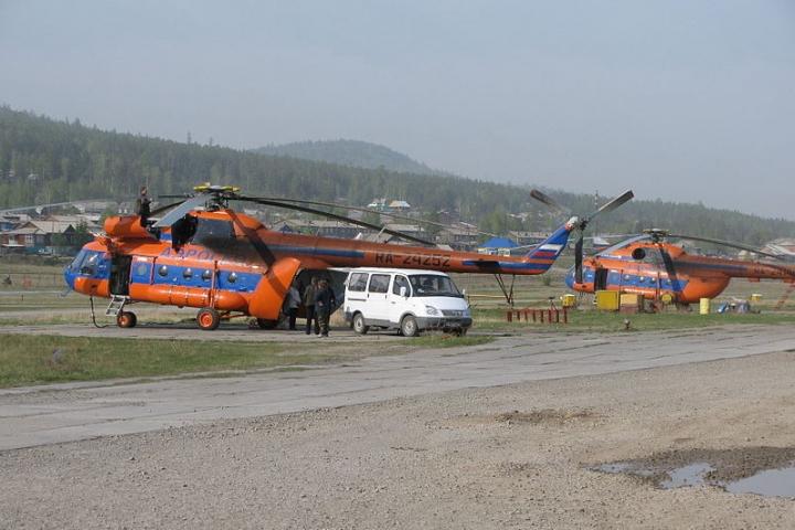 Ми-8 совершил жесткую посадку вПриморье