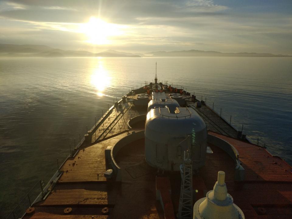 Отряд кораблей ТОФ завершил неофициальный визит в Камбоджу