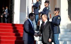 Владимир Путин пригласил греков во Владивосток