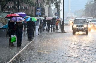 Фото: PRIMPRESS   Во Владивостоке два дня будет идти не просто сильный ливень