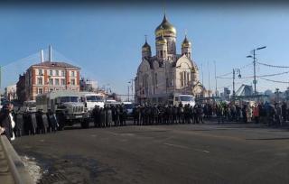 Фото: PRIMPRESS | Во Владивостоке второму митингующему вынесен обвинительный приговор