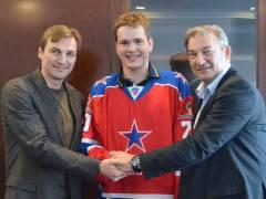 Внук легендарного хоккеиста Третьяка вольется в состав «Адмирала»