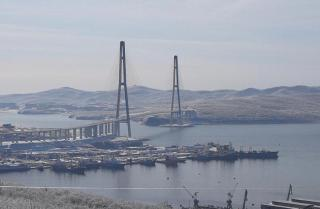 Фото: primorsky.ru | Во Владивостоке мост на остров Русский частично перекроют