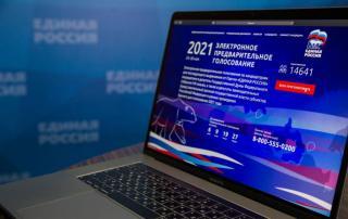 Фото: «Единая Россия» | Почти 5 млн человек приняли участие в электронном предварительном голосовании «Единой России»