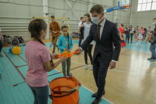 Фото: пресс-служба правительства Приморского края | В Приморье первый инклюзивный фестиваль подарил детям атмосферу единства