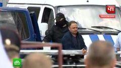Фото: Кадр НТВ | СМИ: Пушкарева в наручниках доставили в СК на допрос