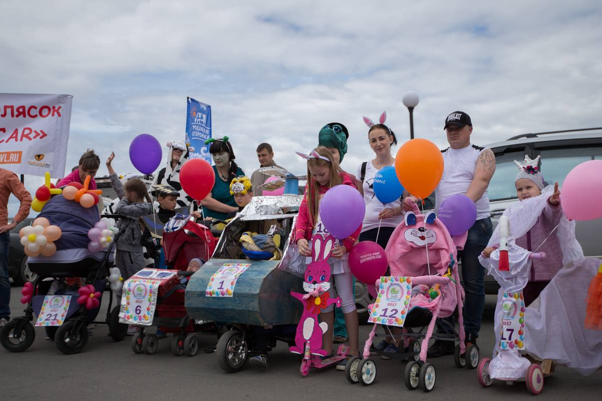Во Владивостоке с размахом прошел парад колясок