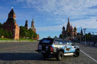 Фото: Примсоцбанк   Увидеть четыре крайние точки страны: 100-дневное путешествие по России на внедорожнике