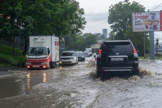 Фото: Татьяна Меель / PRIMPRESS   На выходных в Приморье сохранится дождливая погода