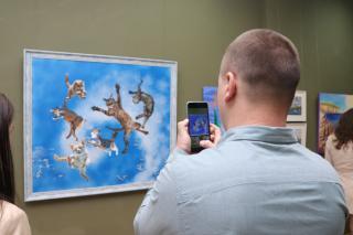 Фото: Екатерина Дымова / PRIMPRESS | «Нарисованный Владивосток» можно теперь увидеть в Приморской государственной картинной галерее