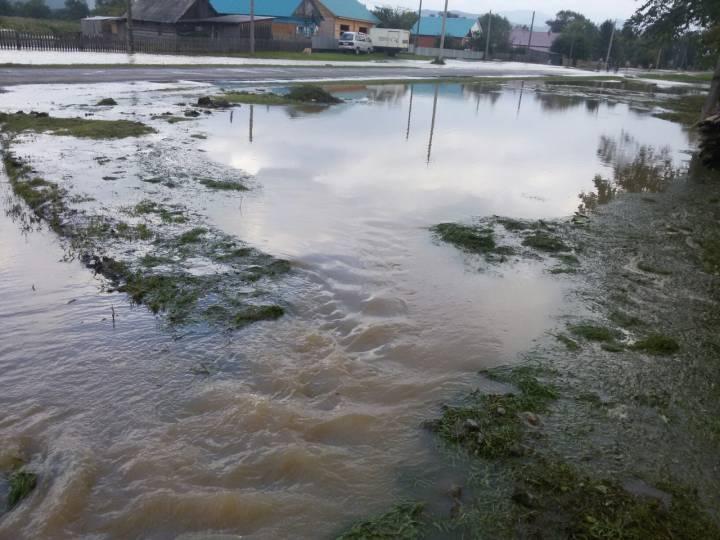 В 7-ми сёлах Приморья ввели режимЧС из-за паводка