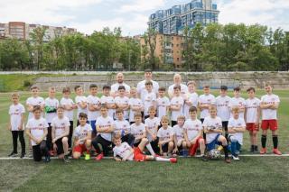 Фото: предоставлено организаторами | Во Владивостоке прошел товарищеский матч между юными боксерами и футболистами