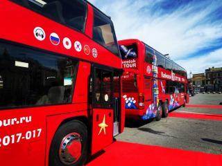 Фото: PRIMPRESS/ Софья Федотова | Во Владивостоке начали курсировать двухэтажные красные автобусы