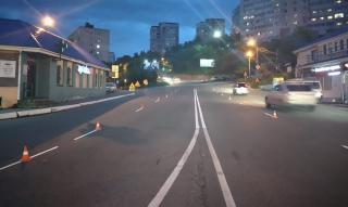 Фото: МБУ «Содержание городских территорий» | Во Владивостоке продолжают обновлять дорожную разметку