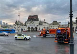 Фото: МБУ «Содержание городских территорий» | Улицы Владивостока ежедневно очищают от пыли и грязи