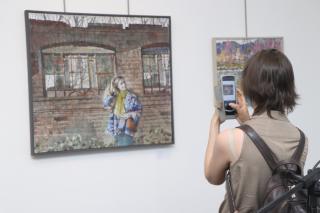 Фото: Екатерина Дымова / PRIMPRESS | Во Владивостоке открылась выставка «Разговор о...»