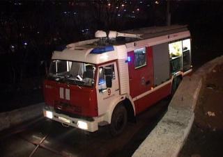Фото: 25.mchs.gov.ru   Во Владивостоке сгорело офисное помещение