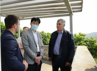 Фото: АО «Восточный Порт» | АО «Восточный Порт» посетила делегация Генерального консульства Японии во Владивостоке