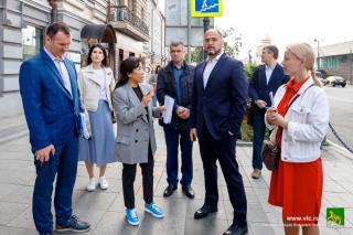 Фото: Евгений Кулешов   Необходимо сделать до осени: центр Владивостока преобразится за счет средств федерального бюджета