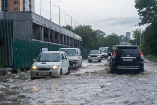 Фото: PRIMPRESS | В самое неудобное время: во сколько будет мощный ливень во Владивостоке