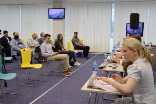 Фото: PRIMPRESS/ Софья Федотова   Во Владивостоке состоялась дискуссия «Противодействие экстремизму и роль СМИ в этом процессе»
