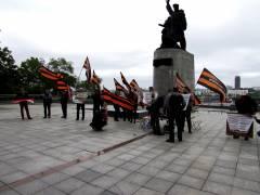 «Вор должен сидеть в тюрьме»: во Владивостоке прошел митинг
