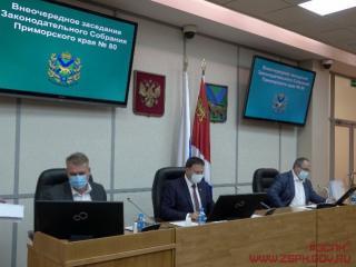 Фото: zspk.gov.ru | В краевой закон внесены корректировки, касающиеся условий для лишения полномочий депутатов в Приморье