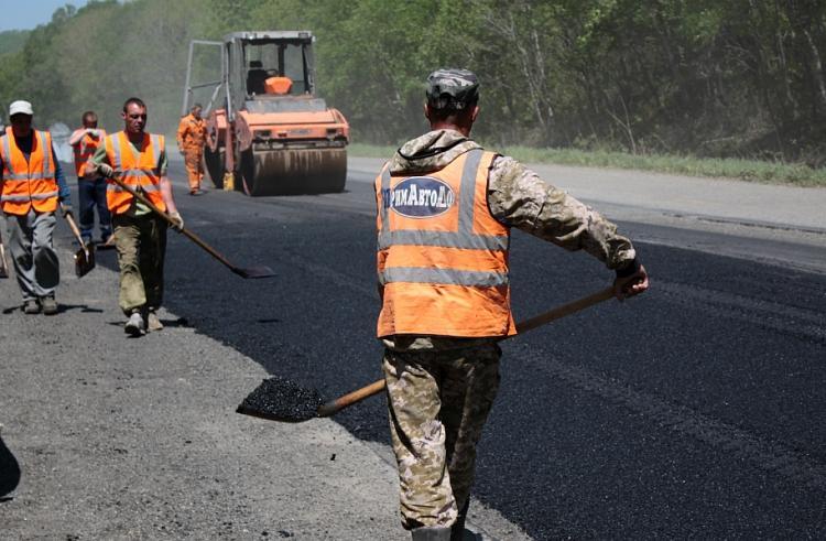 В четырех муниципалитетах Приморья отремонтируют 87 километров дорог