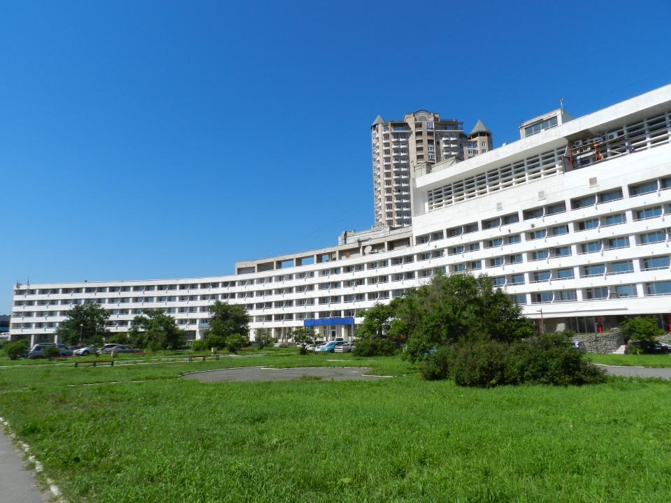 Житель Владивостока пожалел, что припарковал свой джип возле известнейшего отеля