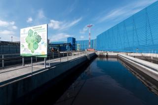 Фото: Восточный Порт | Компания АО «Восточный Порт» завершает возведение самых масштабных ветрозащитных сооружений на Дальнем Востоке