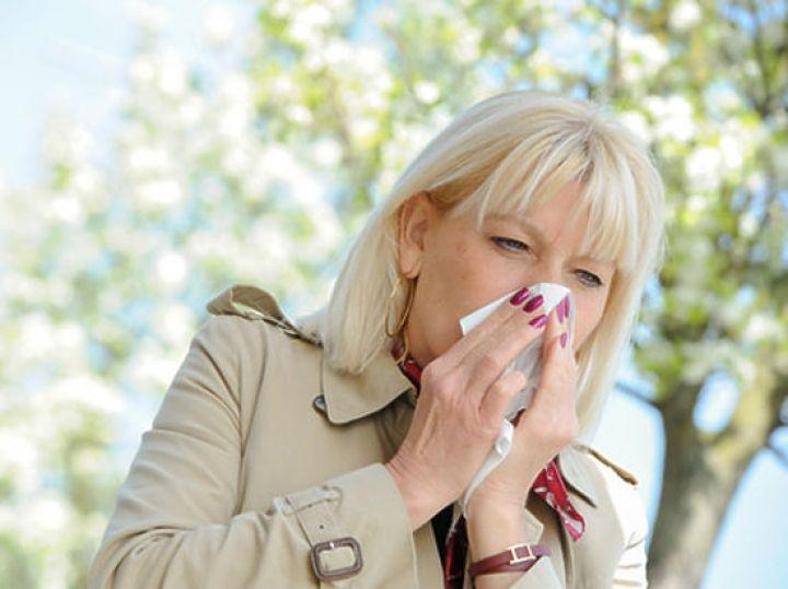 сезон аллергии