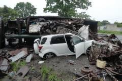 Полицейские устанавливают обстоятельства ДТП в поселке Славянка