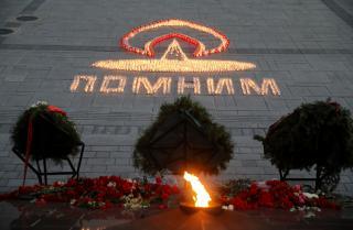 Фото: Игорь Новиков/ Правительство ПК | «Лучи Победы» и «Огненные картины»: как прошел День памяти и скорби в Приморье