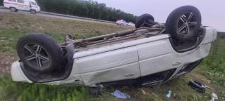 Фото: пресс-служба УГИБДД УМВД России по Приморью | Жительница Приморья отвлеклась на клеща и попала в аварию