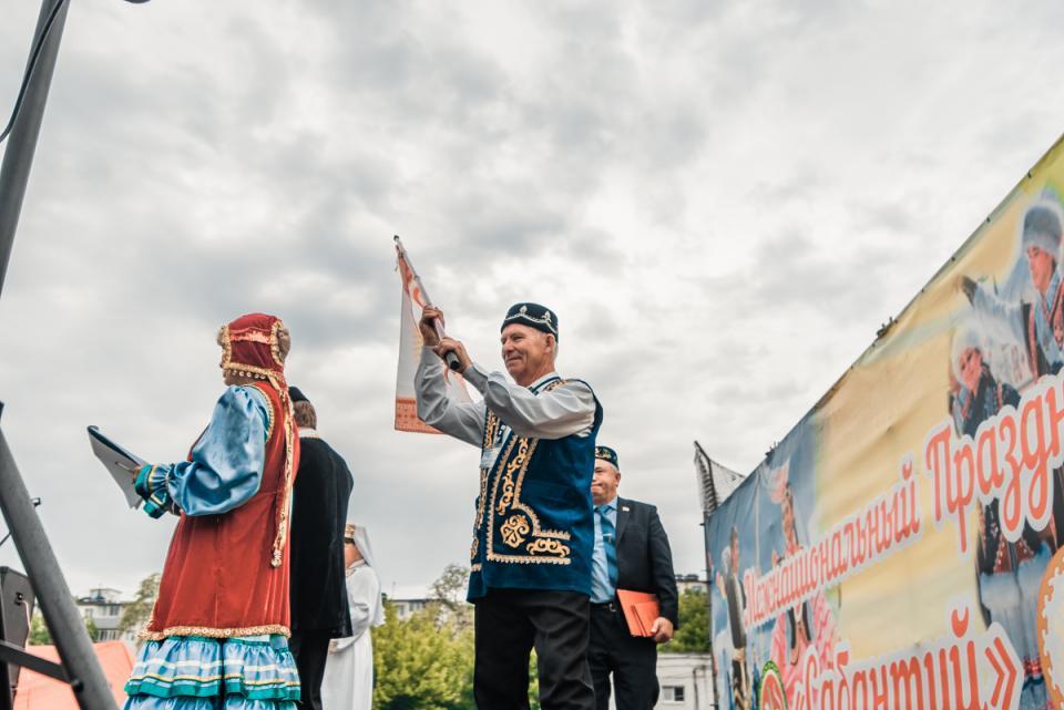 Сабантуй отметили во Владивостоке