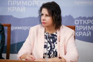 Фото: primorsky.ru | Евгения Шутка: «Вакцинация против COVID-19 предотвращает летальный исход»