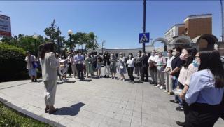 Фото: управление международных отношений администрации г. Владивостока   Во Владивостокепрезентован новый пешеходный маршрут для корейских туристов