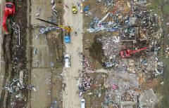 Почти 100 человек пострадали от сокрушительного урагана в Китае