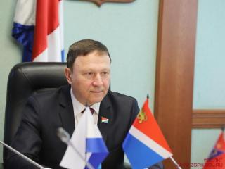Фото: zspk.gov.ru | Председатель Заксобрания Приморья Александр Ролик заразился коронавирусом