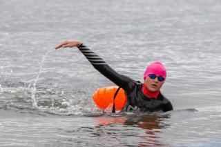 Фото: Татьяна Меель / PRIMPRESS | Фото: во Владивостоке состоялся девятый марафонский заплыв «Амурский залив»