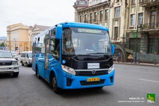 Фото: vlc.ru | По просьбам горожан с 1 июля автобус № 5 будет ходить до Назимовской батареи