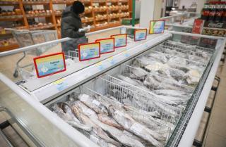 Фото: Игорь Новиков/ Правительство ПК | Приморцы приобрели 670 тонн свежей рыбной продукции по социальным ценам