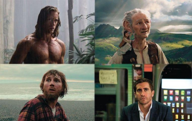 Обзор кино: Тарзан, великаны и «Гарри Поттер», играющий труп