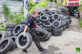 Фото: vlc.ru | Во Владивостоке переработают более 35 тысяч тысяч автопокрышек