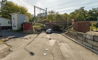Фото: Яндекс.Карты | Во Владивостоке перекроют часть Лесного переулка в выходные (схема)