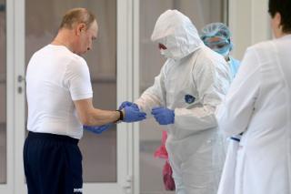 Фото: пресс-служба Кремля   Путин раскрыл, какой вакциной от COVID он привился