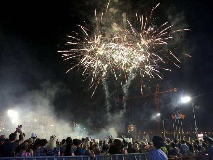 Как Владивосток отмечал свои дни рождения